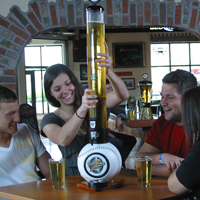 When Shopping for a Beer Tower Seeing is Believing