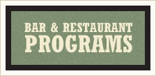 bar and restaurant programs