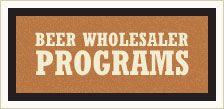 beer wholesaler programs